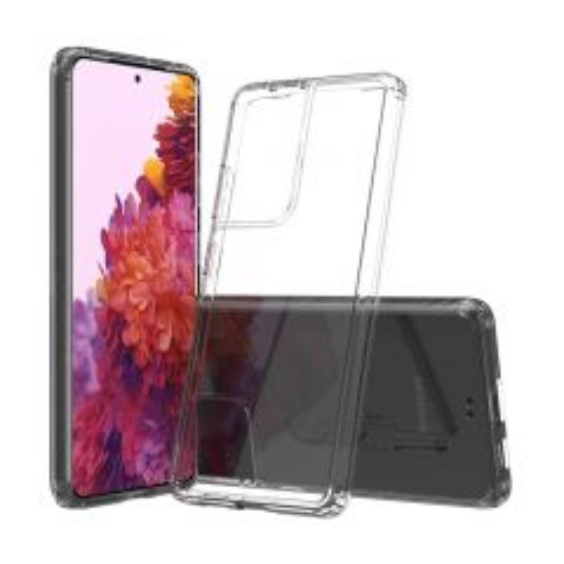 Housse de protection silicone pour Samsung G998 Galaxy S21 Ultra 5G (Boite/BLISTER) transparent