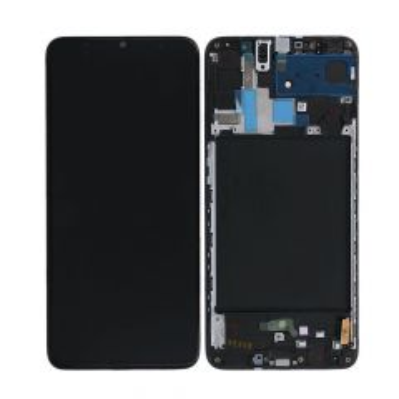 Ecran lcd avec vitre tactile ORIGINAL Samsung A107 Galaxy A10s 2019 SERVICE PACK GH82-17482A noir