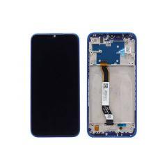 Ecran lcd avec vitre tactile pour Xiaomi Redmi Note 8T avec chassis blanc