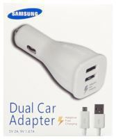 Chargeur voiture ORIGINAL charge rapide Samsung EP-LN920 (Boite/BLISTER) blanc