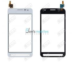 Vitre tactile pour Samsung G388 Galaxy Xcover 3 blanc