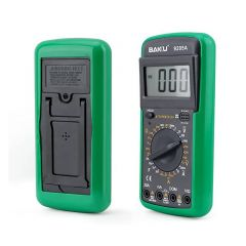 Multimétre digital avec 10 mesures de température BAKU BK-9208A