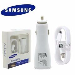 Chargeur voiture ORIGINAL charge rapide Samsung 15W EP-LN915U (Boite/BLISTER) blanc