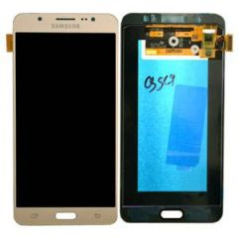 Ecran lcd avec vitre tactile ORIGINAL Samsung J710 Galaxy J7 2016 SERVICE PACK GH97-18855B/GH97-18931B noir