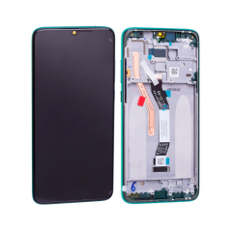 Ecran lcd avec vitre tactile pour Samsung A105F Galaxy A10 avec chassis noir