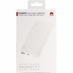Power Bank original Huawei charge rapide Type C CP11QC (Boite/BLISTER) d'origine blanc