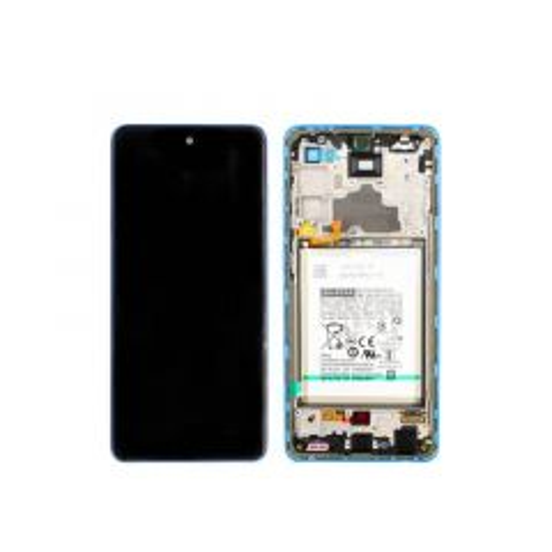Ecran lcd avec vitre tactile ORIGINAL Samsung A725/A726 Galaxy A72 4G/A72 5G 2021 SERVICE PACK GH82-25624C violet
