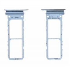 Support sim pour Samsung N975 Galaxy Note 10 Plus silver/argent