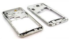 Chassis central pour Samsung J500 Galaxy J5 blanc