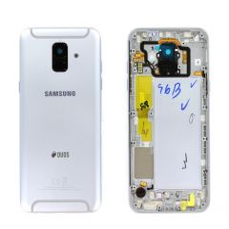 Face arrière ORIGINALE Samsung A600 Galaxy A6 2018 DUOS SERVICE PACK GH82-16423B violet