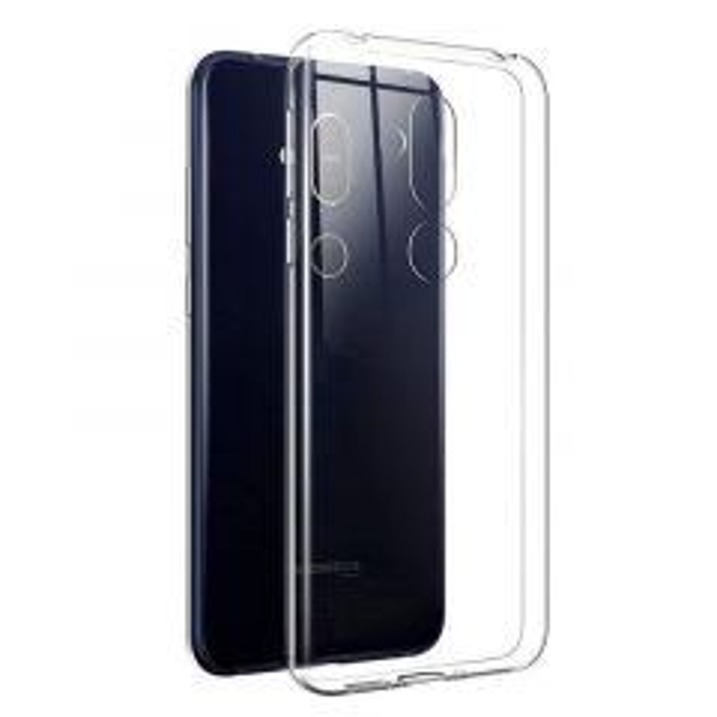 Housse de protection silicone pour Nokia 8.1 (Boite/BLISTER) transparent