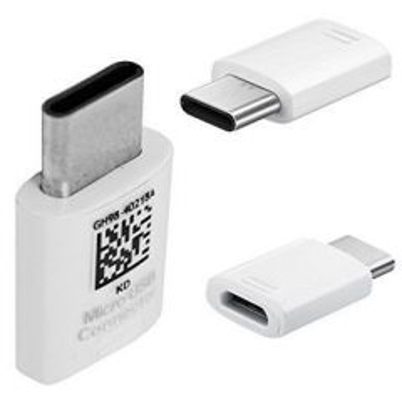 Adaptateur Type C vers Micro Usb ORIGINAL Samsung G950 Galaxy S8 GH98-40218A (vrac/bulk) blanc