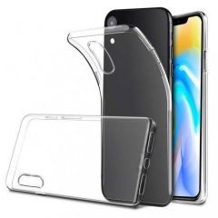 Housse de protection silicone pour Iphone XR (Boite/BLISTER) transparent