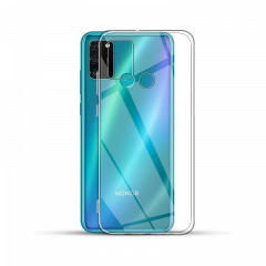 Housse de protection silicone pour Huawei Honor 9A (Boite/BLISTER) transparent