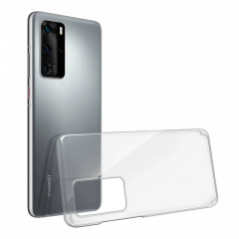 Housse de protection silicone pour Huawei P40 (Boite/BLISTER) transparent