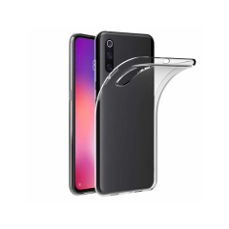 Housse de protection silicone pour Xiaomi Mi 9SE (Boite/BLISTER) transparent