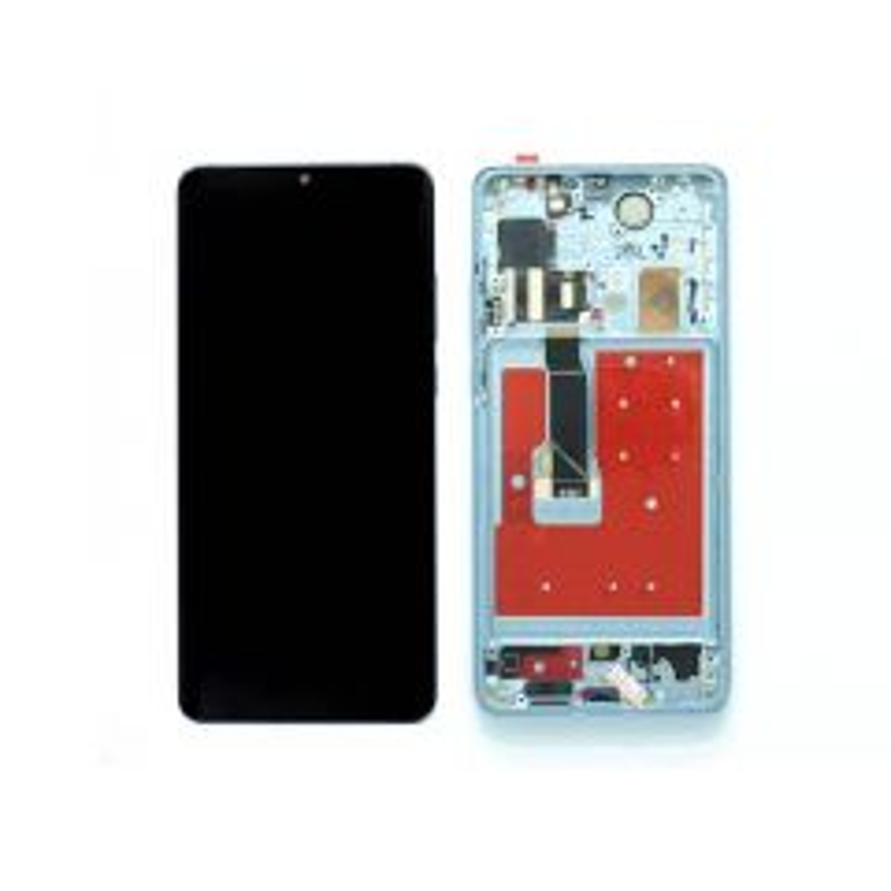 Ecran lcd avec vitre tactile OLED pour Huawei P30 Pro avec chassis