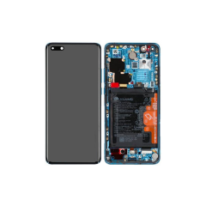 Ecran lcd avec vitre tactile ORIGINAL Huawei P40 Pro avec chassis, batterie et haut parleur