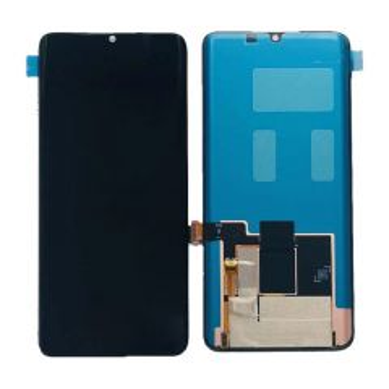 Ecran lcd avec vitre tactile pour Xiaomi Mi Note 10 Oled noir