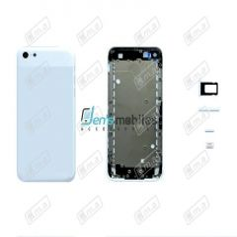 Face arrière pour Iphone 5C blanc