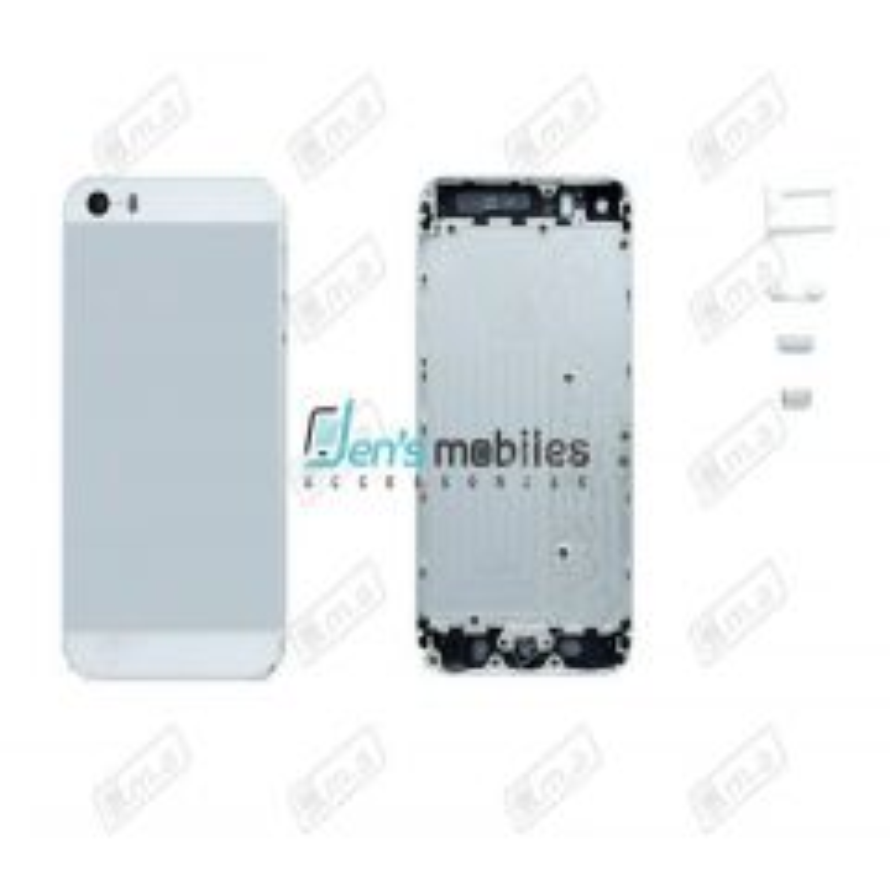 Face arrière pour Iphone 5S blanc