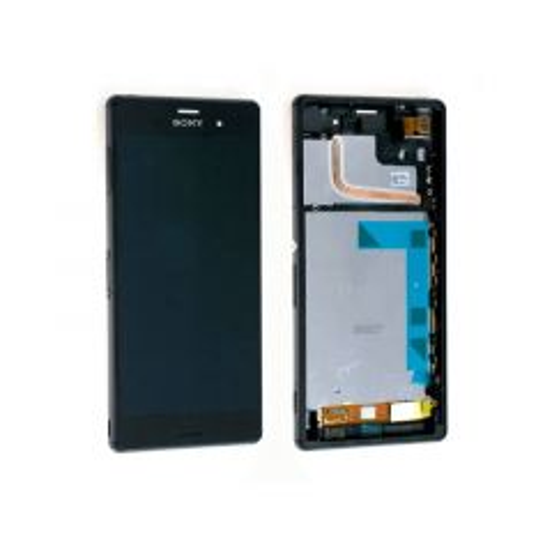 Ecran lcd avec vitre tactile ORIGINAL Sony Xperia L4 noir