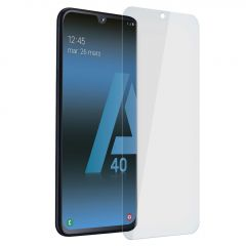 Film de protection en verre trempé pour Samsung A405 Galaxy A40 (Boite/BLISTER)