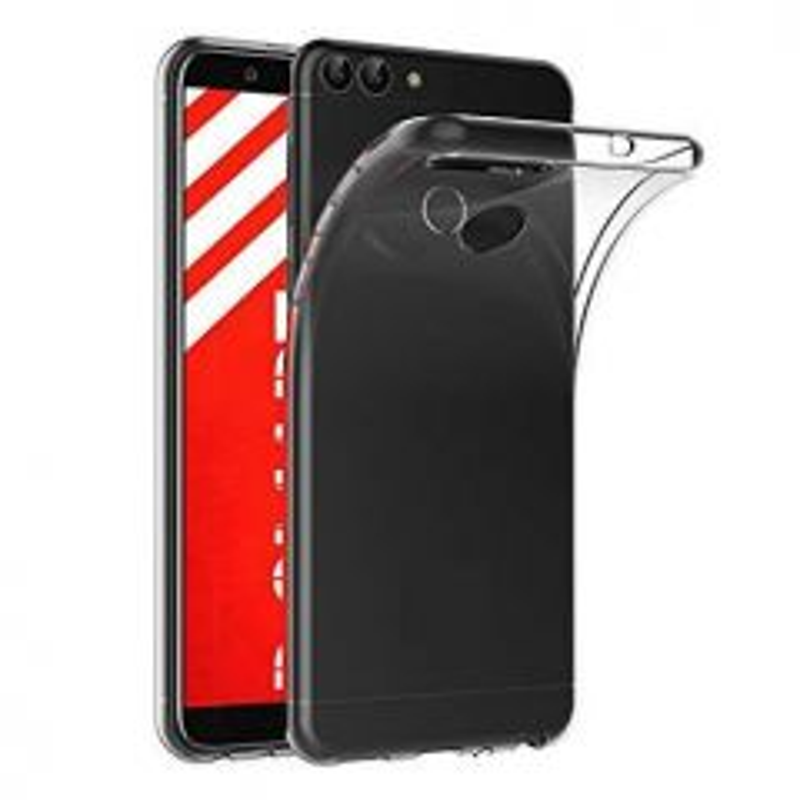 Housse de protection silicone pour Huawei P Smart (Boite/BLISTER) transparent