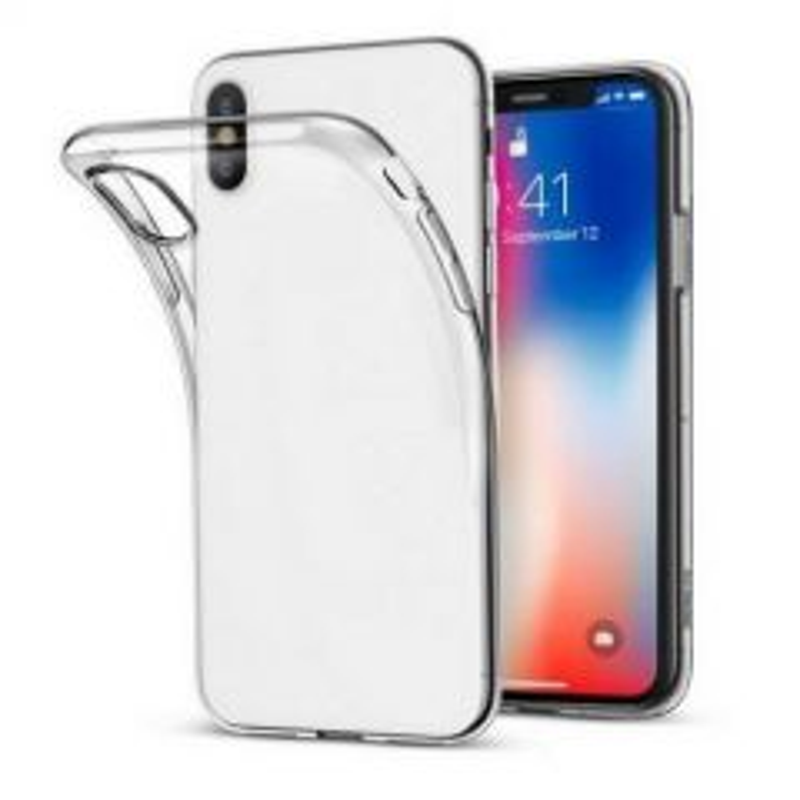 Housse de protection silicone pour Iphone 11 Pro Max (Boite/BLISTER) transparent