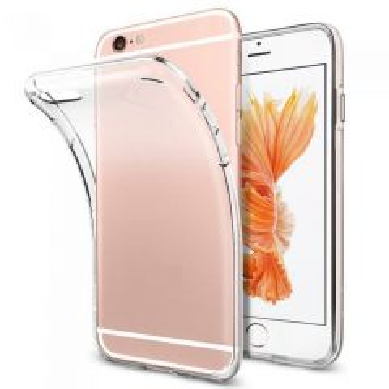 Housse de protection silicone pour Iphone 6/Iphone 6s (Boite/BLISTER) transparent