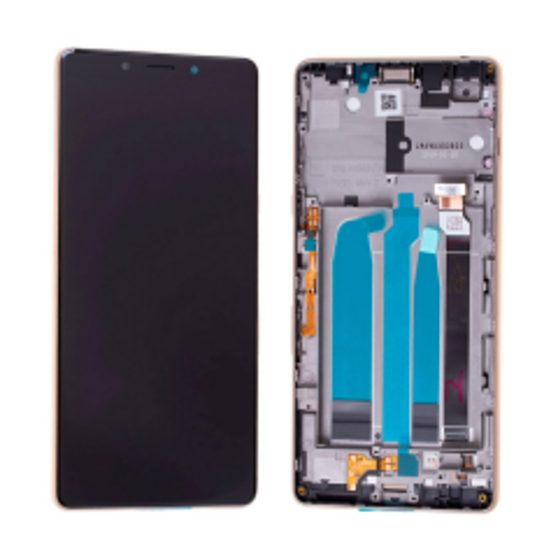 Ecran lcd avec vitre tactile pour Sony Xperia L3 avec chassis