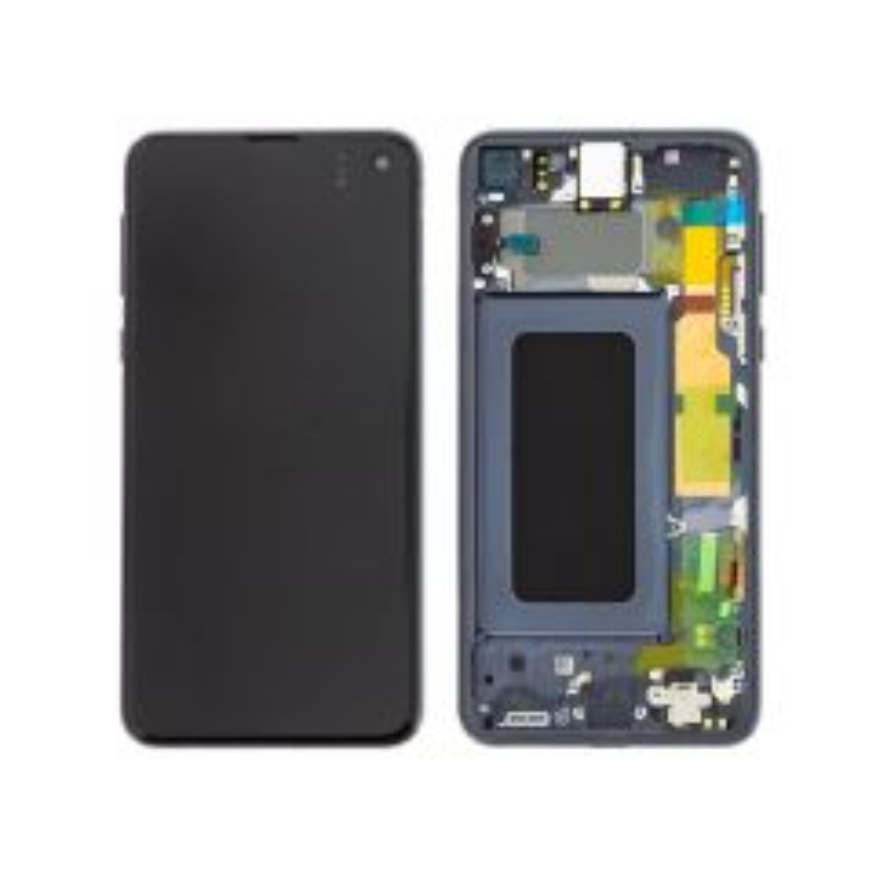 Ecran lcd avec vitre tactile pour Samsung G970 Galaxy S10E avec chassis