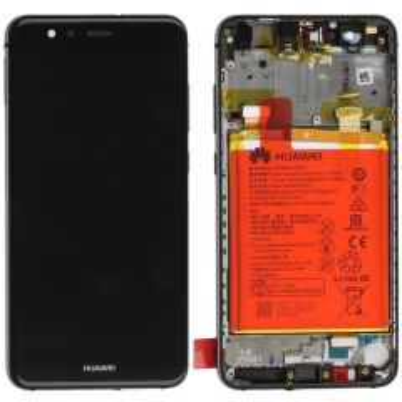 Ecran lcd avec vitre tactile ORIGINAL Huawei P10 Lite avec chassis, batterie et haut parleur