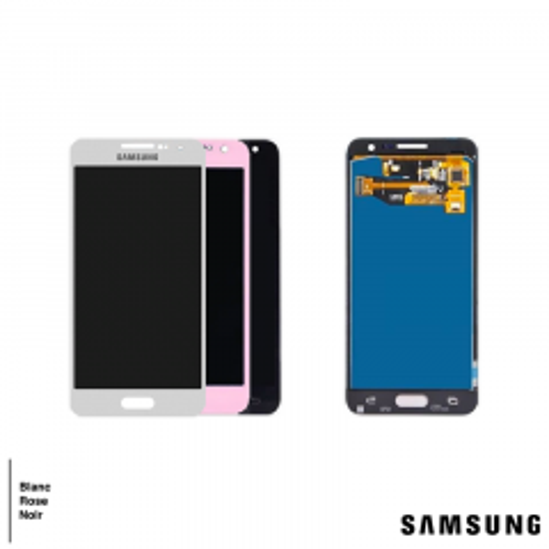 Ecran lcd avec vitre tactile ORIGINAL Samsung A300 Galaxy A3 SERVICE PACK GH97-16679E rose