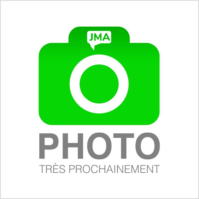 Clavier AZERTY complet avec chassis, retro éclairage et trackpad silver pour MACBOOK PRO 13 A1706 RETINA noir
