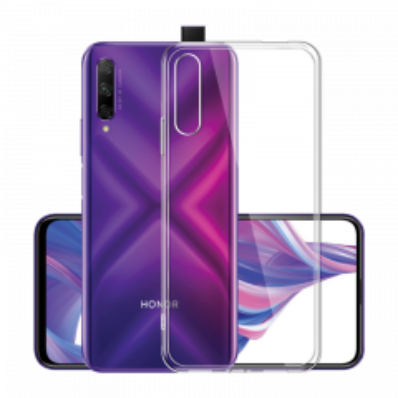 Housse de protection silicone pour Huawei Honor 9X Pro (Boite/BLISTER) transparent