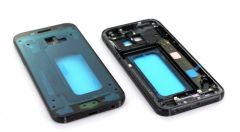 Support lcd avec chassis central pour Samsung A320 Galaxy A3 2017 noir