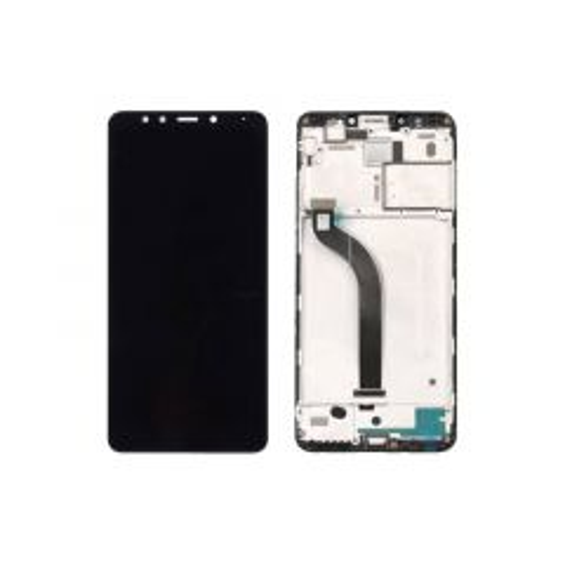 Ecran lcd avec vitre tactile pour Xiaomi Redmi 5 avec chassis noir
