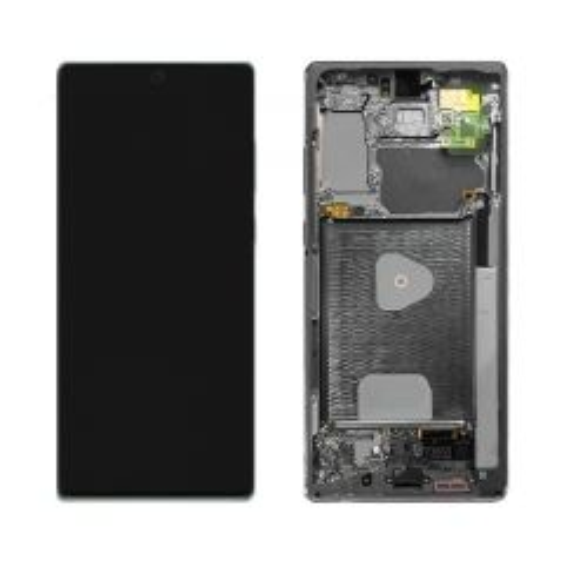 Ecran lcd avec vitre tactile ORIGINAL Samsung N980/N981 Galaxy Note 20 5G SERVICE PACK GH82-23733A gris